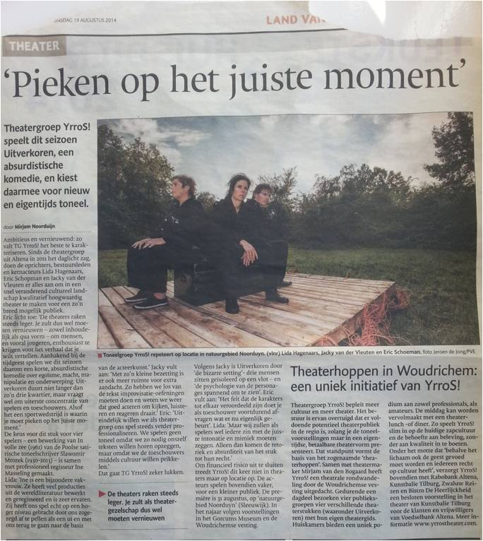 Brabants Dagblad   19-08-2014